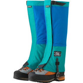 Outdoor Research Retro Crocodile Gaiters Unisex glacier/sea